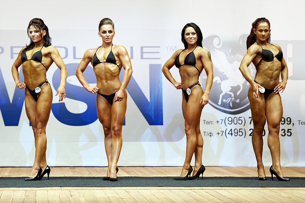 bikini fitness tävling